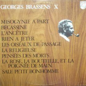 Georges Brassens – X