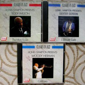Woody Herman, Dexter Gordon, Teddy Wilson 3 cd.