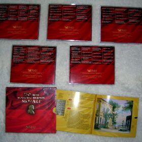 Wolfgang Amadeus Mozart - 250 Jahre. Największe dzieła na 5 płytach, w ekskluzywnym opakowaniu