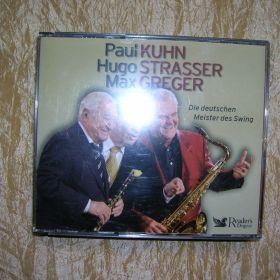 Paul Kuhn, Hugo Strasser, Max Greger  Box 4 cd. Certyfikat jakości