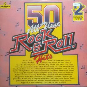 The Rock And Rollers – 50 All Time Rock & Roll Hits 2xLP